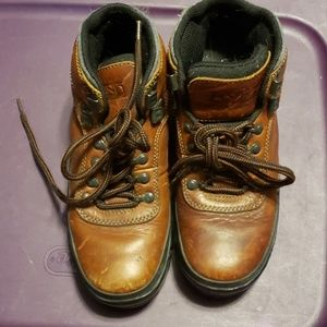 Lands End leather boots sz 7